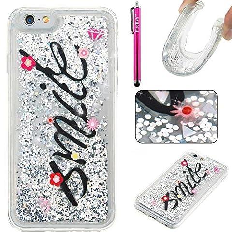 iPhone 6S Plus/6 Plus Hülle, Firefish Dünne Schlag-Absorption dünne Stoßabdeckungs-Anti-Beleg-weiche