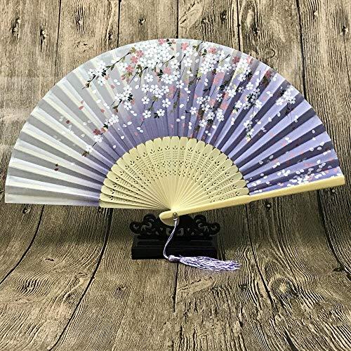 Antiker faltender Ventilator-chinesischer Art-beweglicher faltender Ventilator-Minifächer A ()