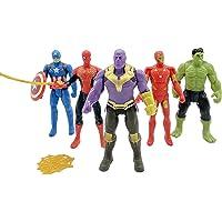 Pleasure Treasure Avengers Action Figure (4.5 Inches, Multicolour)
