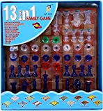 #2: Urbanese 13 In 1 Magnetic Ludo Chess Snacks And Ladders Set Game