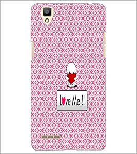 PrintDhaba Quote D-4560 Back Case Cover for OPPO F1 (Multi-Coloured)