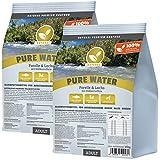 Hundeland Natural | Pure Water | 2 x 15 kg | Forelle + Lachs + Süßkartoffel | getreidefreies Hundefutter | Trockenfutter für alle Hunderassen | viel frischer Fisch | artgerecht & besonders gut verträglich
