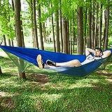 YZW Mosquito Net Hammock Ultralight Single Double Swing Tenda Aerea per Campeggio All'aperto Indoor Home-r 98 inch(l)*47 inch(w)