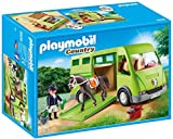 Playmobil Horse Box Transporte de Caballo Color Verde, Gris 6928