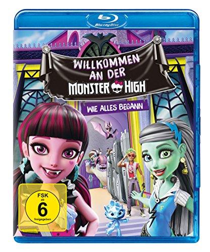 Monster High - Willkommen an der Monster High - Wie alles Begann [Blu-ray] (Monster High Buch York)