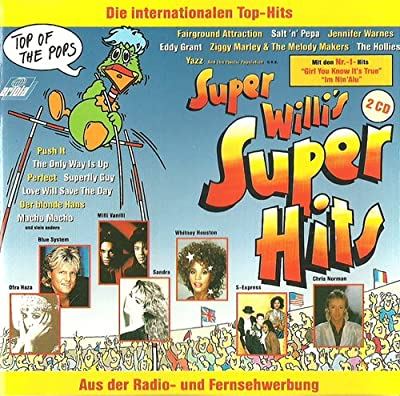 Super Willi's Super Hits (Doppel-CD, 30 Top Hits von 1988, incl. Der blonde Hans, My Bed Is Too Big, Andamento Lento, No More Heaven, Im Nin'Alu, Heaven Can Wait etc.)