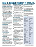Microsoft Edge and Internet Explorer 11 for Windows 10 Anniversary Update Quick Reference Guide (Cheat Sheet of Instructions, Tips & Shortcuts - Laminated Card)