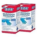 SOS Medizinische Handschuhe Größe M (10 Stück) | Einmalhandschuhe aus Nitril | latexfrei und puderfrei (2)