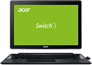 Acer Switch 3 SW312-31-P0US 31 cm (12,2 Zoll Full-HD IPS Multi-Touch) Convertible Notebook (Intel Pentium N4200 Quad-Core, 4GB RAM, 64GB eMMC, Intel HD, Win 10 S) Aluminium-Grau