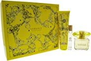 Versace Yellow Diamond 90Ml And 10Mleau De Toilette And Perfumed Body Lotion 150Ml Giftset for Women