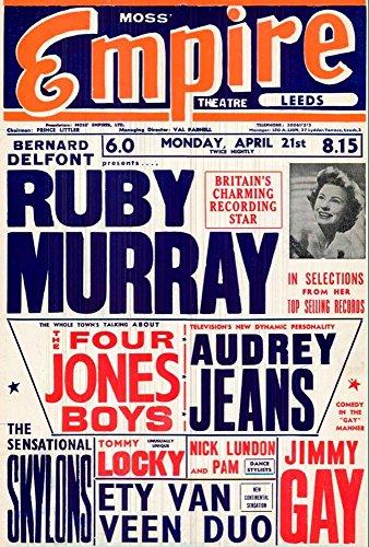 ruby-murray-empire-theatre-leeds-a4-glossy-art-print