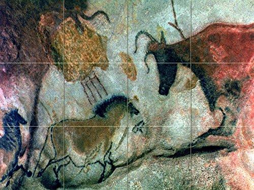 len und Rock Parietal Art V fliesenwandbild Küche Badezimmer Wand Duett Hinter Herd Reihe Spüle Splashback 4x 310,8cm Keramik, glänzend, 2359__4x3_4.25inchCeramicMatte ()