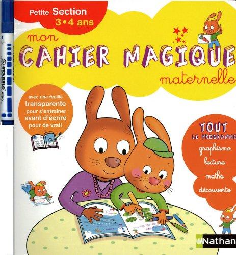Mon Cahier magique PS