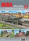 MIBA Anlagen 19 - Bahnhof Altburg in H0, In N durchs, gebraucht gebraucht kaufen  Wird an jeden Ort in Deutschland