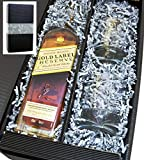 Johnnie Walker Whisky Gold Reserve 0,7l mit 2 Tumbler Gläser in Geschenkarton von meinglas24 - ein tolles Geschenkset für Kenner und Geniesser!