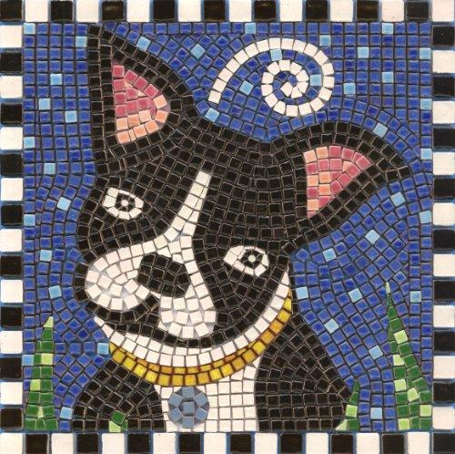 mosaic kit ,20x20cm, Dog