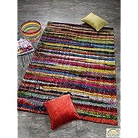 INTERS tellar Stripe Designer Pelo Lungo, Tappeto in multicolor, dimensioni: