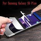 Verre Trempé pour Samsung Galaxy S9 Plus Protecteur d'Écran Couverture Film de Protection pour Samsung Galaxy S9 Plus Screen Protector