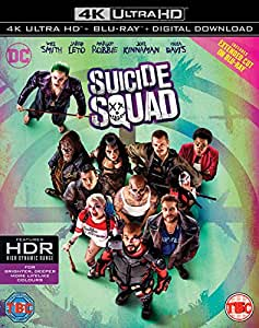 Suicide Squad [4K Ultra HD Blu-ray] [Includes Digital Download] [Region Free]