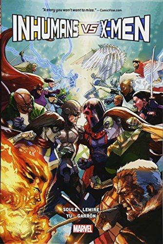 Inhumans Vs. X-men por Charles Soule