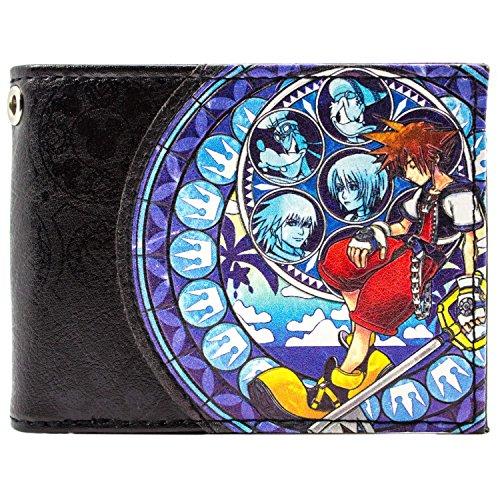 Cartera de Kingdom Hearts 2 Sora, Donald Goofy Azul