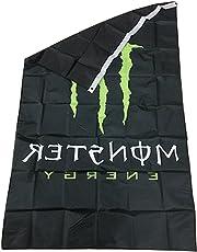 NiceButy Flagge aus Polyester Flagge für die Fans # Monster Energy # 90* 150cm