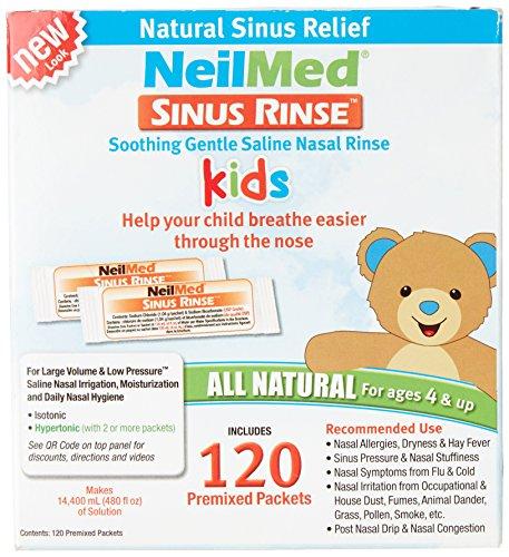 Neil Med Sinus Rinse Pediatric Packets , Premixed 120/box by NeilMed - Neilmed Sinus Rinse Kit