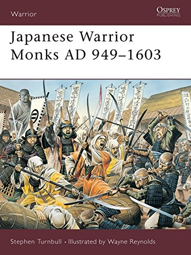 Japanese Warrior Monks AD 949-1603 por Stephen Turnbull