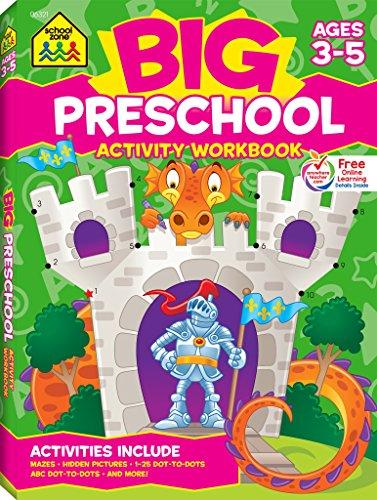Big Preschool Activity: Ages 3-5 (School Zone)
