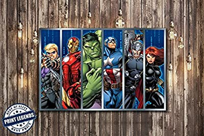 Avengers Comic Canvas Print - Canvas Art - Wall art - Framed Print
