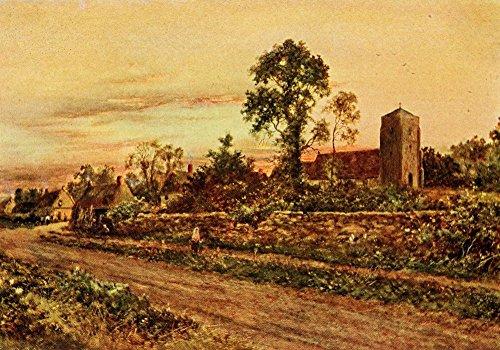 daniel-sherrin-in-unfamiliar-england-1910-sulgrave-church-village-fine-art-print-4572-x-6096-cm
