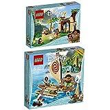 Lego Disney 2er Set 41149 41150 Vaianas Abenteuerinsel + Vaiana auf hoher See