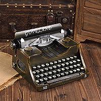 GFEI Antigua máquina de escribir vintage modelo Manualidades / creativo adornos cafe ventana display props decoraciones
