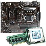 Intel Core i5-8400 / MSI Z370-A Pro / 16GB Mainboard Bundle | CSL PC Aufrüstkit | Intel Core i5-8400 6X 2800 MHz, 16GB DDR4-RAM, Intel UHD Graphics 630, GigLAN, 7.1 Sound, USB 3.1