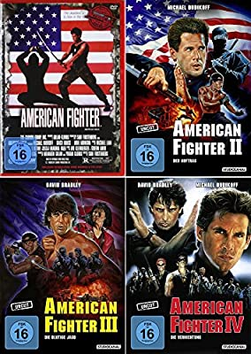 American Fighter 1 - 4 Uncut Collection (4-DVD) Kein Box-Set