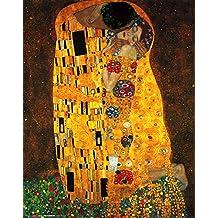 "Lámina/Impresión de Arte de Gustav Klimt ""Der Kuss/El beso"" (40cm x 50cm)"