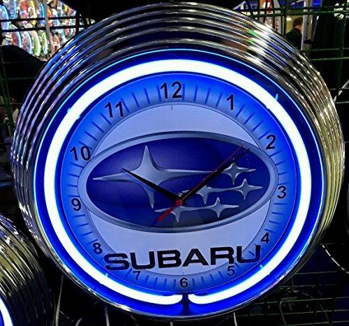 neon-reloj-subaru-garage-sign-reloj-de-pared-estados-unidos-50-s-style-neon-color-azul