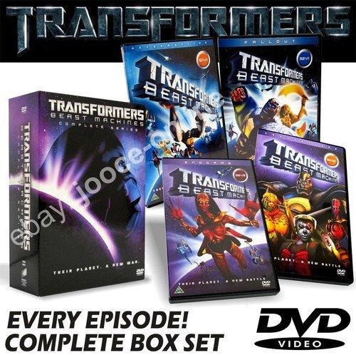 Transformers Beast Machines COMPLETE BOX SET DVD - Series 1 & 2 (Transformers Dvd Box Set)
