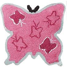 Mucky Fingers- Alfombra en forma de mariposa para niñas (Talla Única/Mariposa)