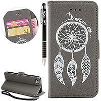 iPhone 6S Hülle,iPhone 6 Hülle, iPhone 6/6S Hülle Ledertasche Brieftasche im BookStyle, SainCat PU Leder Wallet... preisvergleich bei billige-tabletten.eu