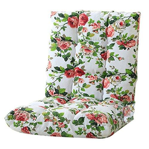 Chenille Kinder-stühle (L-R-S-F Lazy Sofa, Klapp-Sofa, Bett Computer Stuhl, Boden Balkon Sofa (Farbe : 4#))