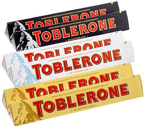 Preisvergleich Produktbild Toblerone Probier Set,  6er Pack (6 x 100 g)