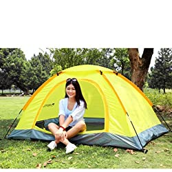 Tuzech Waterproof Uv Outdoor Hiking Tents 2 Person With Carrying Bag