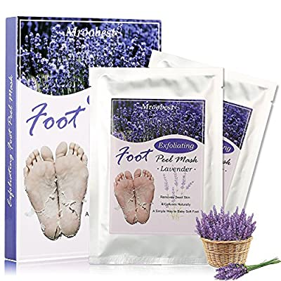 Exfoliating Socks, Foot Peel Mask, Exfoliating Foot Mask