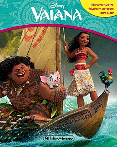 Vaiana. Libroaventuras: Incluye un cuento, figuritas y un tapete para jugar (Disney. Vaiana) por Disney