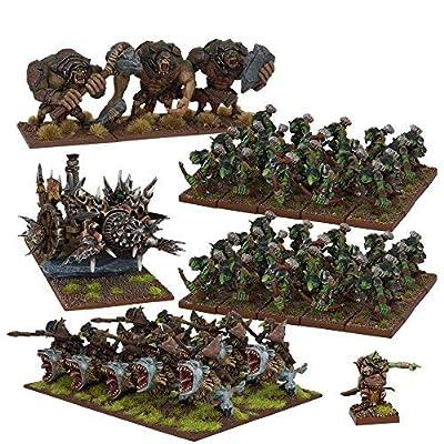 Mantic Jeux Mgkwg106Goblin armée, Multicolore