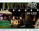 Coen Bakker LED Partylichterkette Warmweiß LEDs Lichterkette 4,8m oder 10m, Länge:4.8 m