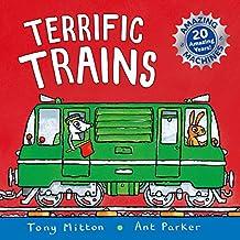 Amazing Machines: Terrific Trains: Amazing Machines 4 (English Edition)