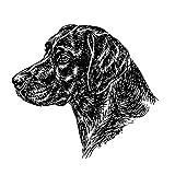 Schecker Schlüsselanhänger, M. Esser, Labrador,schwarz