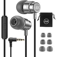 ULIX Rider Kopfhörer In-Ear Ohrhörer, 3 Jahre Garantie, Verdrehsicheres, Verstärktes Kabel, Mikrofon, Langlebig, 48-Ω…